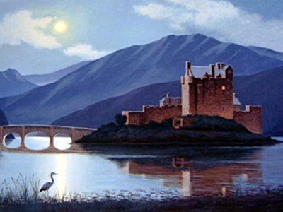 """""""Faire na h'Oidhche – Eilean Donan"""" (Night Watch – Island of Donan) 00028"""