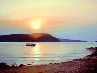 Sunset Over the Strait 00032