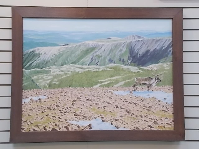 Caribou on the Barrens By Al Chaddock 00205