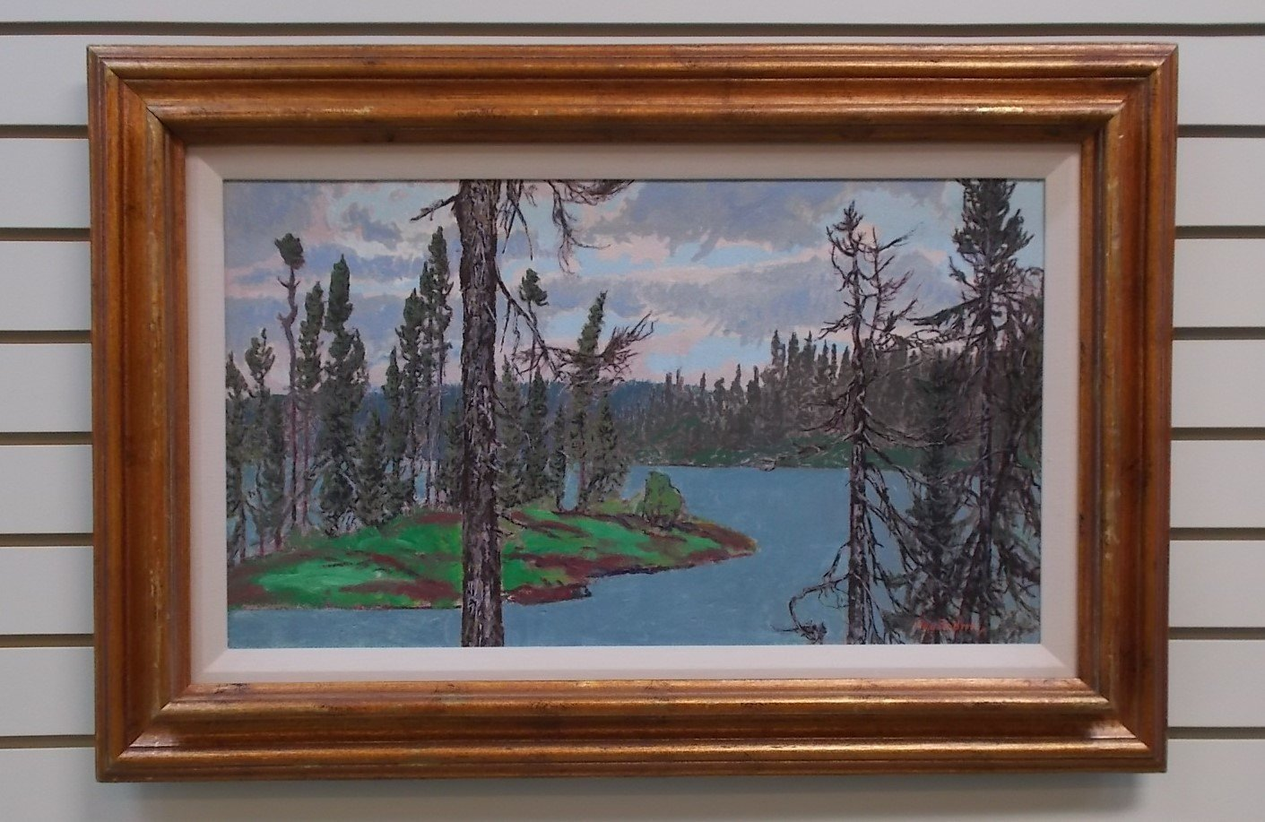 October Lake in Morning by Paul Rodrik