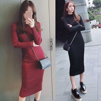 Long Dress Slim/ Vestido Ropa Coreana Korean Style