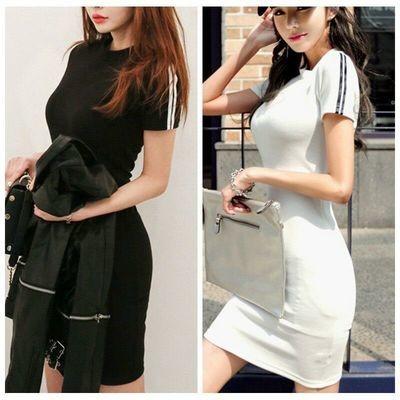 Slim Dress/Vestido Ropa Coreana Korean Style