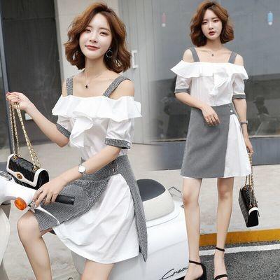 Dress Mini Plaid Skirt/ Ropa Coreana Korean Style