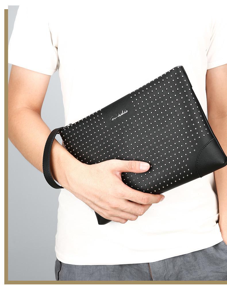 Men Clutch Wallet/Cartera Korean Style