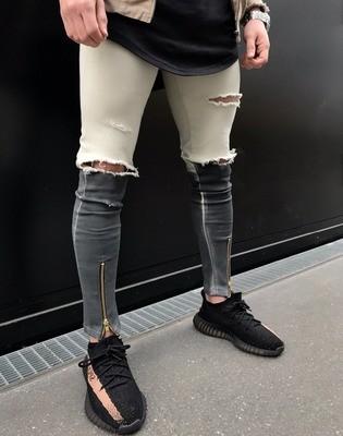 Denim Skinny Jeans/Pantalon Korean Style