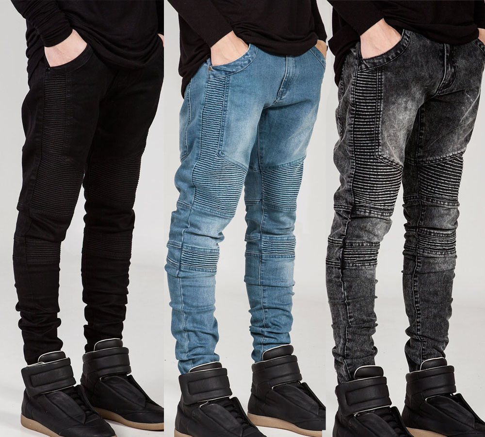Men Ripped Skinny Jeans/Pantalon Korean Style