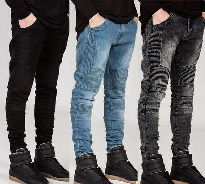 Men Ripped Skinny Jeans/Pantalon Korean Style