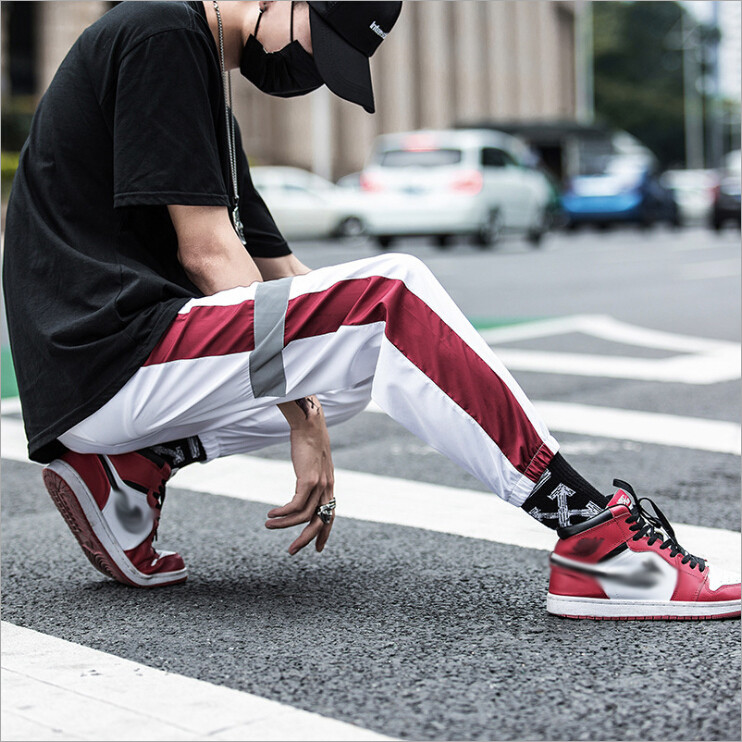 Men Sport Joggers/Pantalon Korean Style