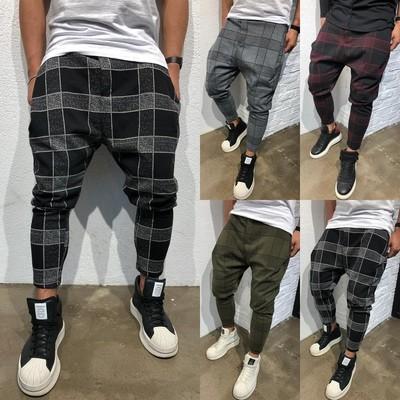 Men Slim Fit Casual Jogger/Pantalon Korean Style