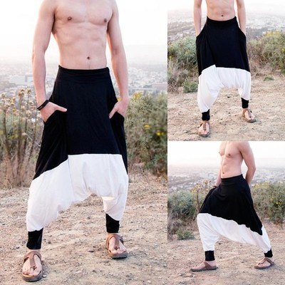 Men Casual Yoga Beach Pants/Pantalon Korean Style
