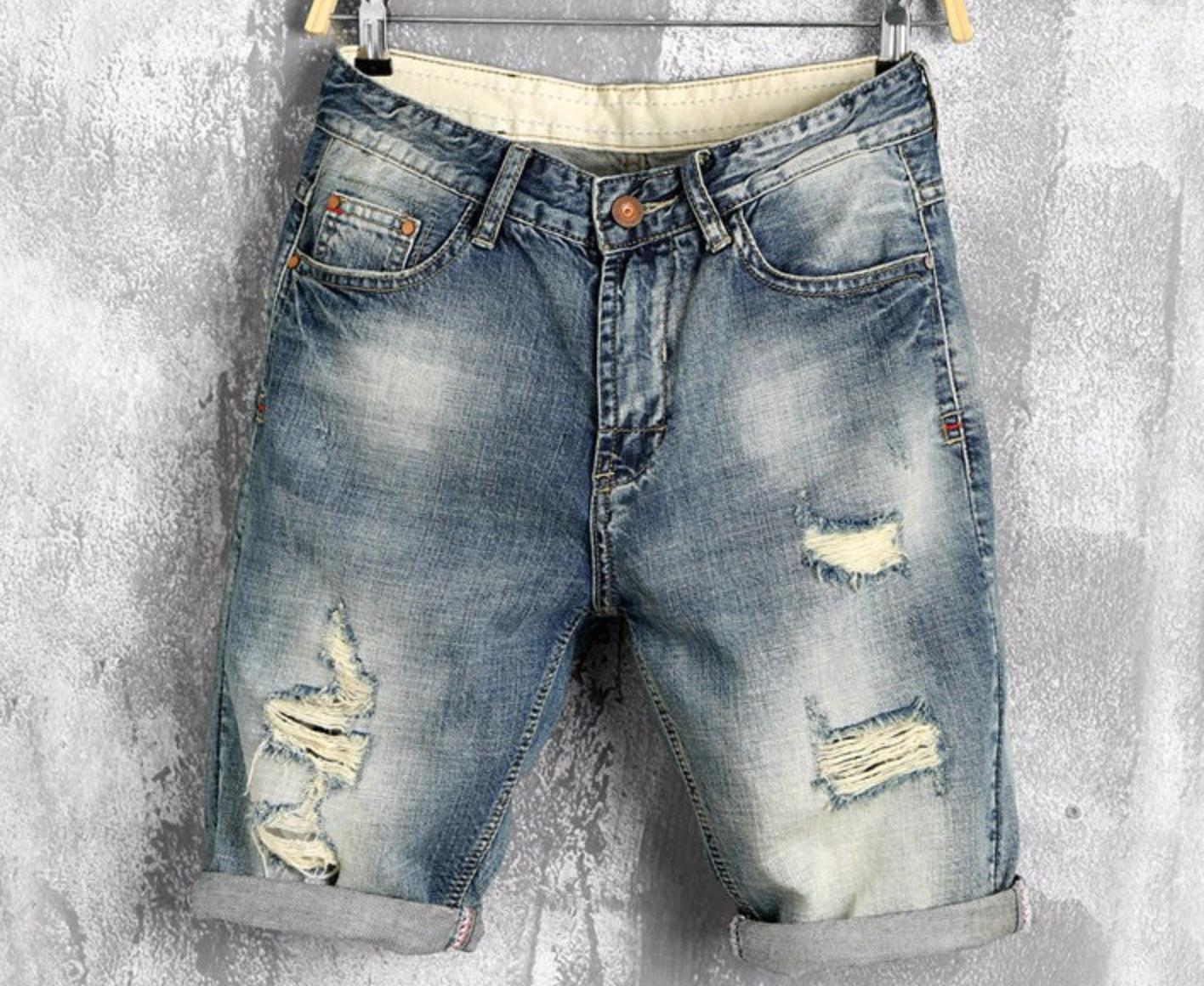 Summer Denim Shorts / Short Korean Style