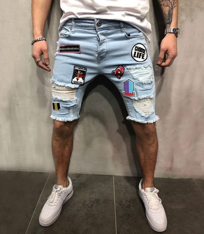 High Street Jeans Shorts/ Short Korean Style