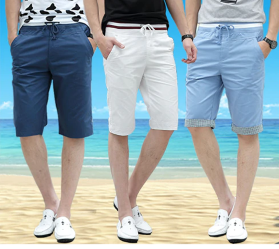 Comfortable Casual Cotton Shorts/ Short Korean Style