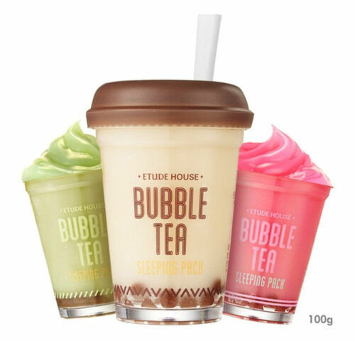 Bubble Tea Sleeping Pack 100g / Korean Style