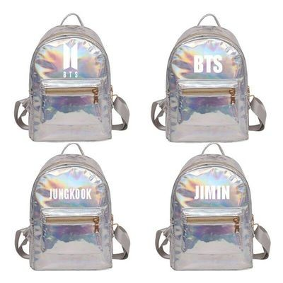 Kpop BTS Laser Backpack/ Mochila Korean Style