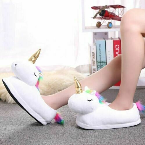 Slippers\Pantuflas Unicornio Korean Style