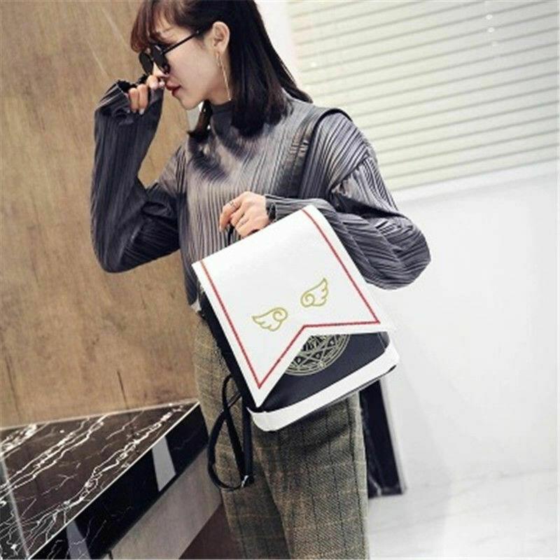 Cute Anime Shoulder Backpack/Mochila Korean Style