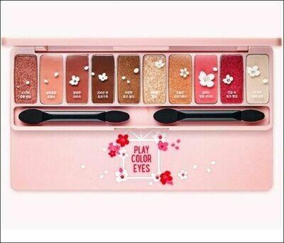 Play Color Eyes Cherry Blossom/Sombras Para Ojos Korean Style