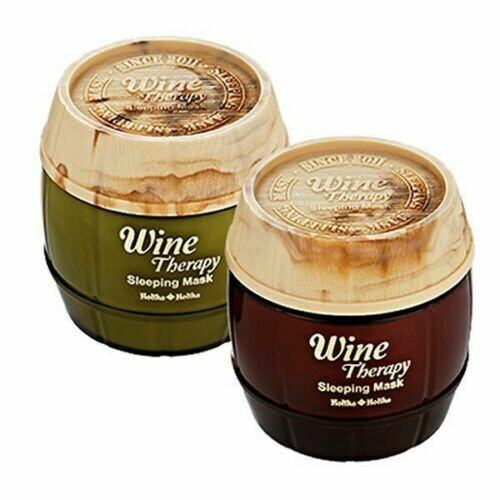 Wine Therapy Sleeping Mask Pack/ Mascarilla Korean Style