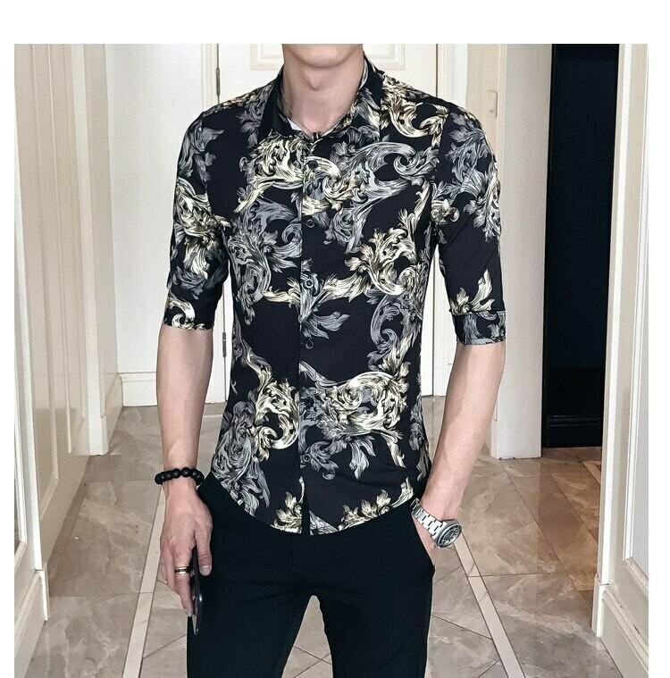 Camisa Con Estampado / Camisa Korean Style