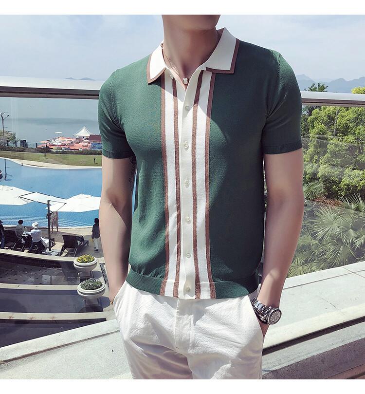 Camisa Casual Polo / Camisa Korean Style