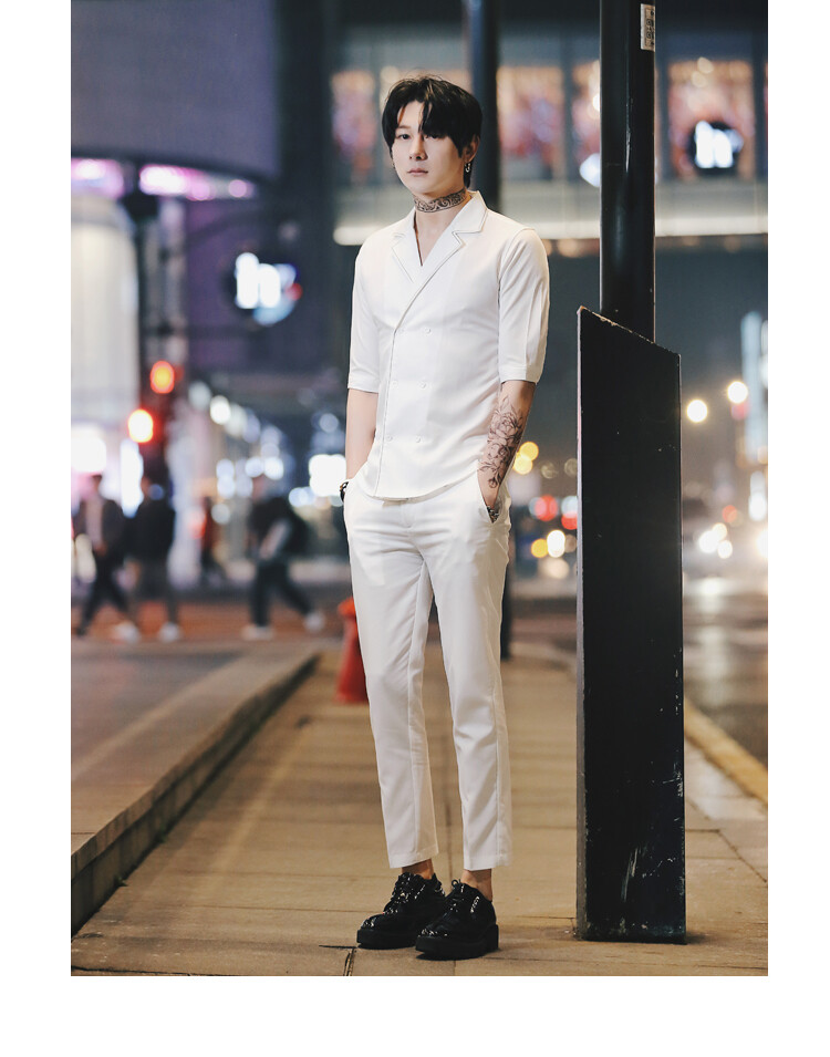 Summer Men Suit /Suit Korean Style