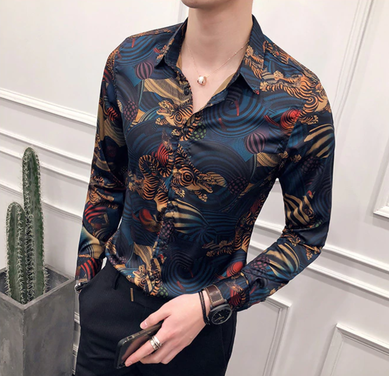 Camisa Con Estampado / Camisas Korean Style