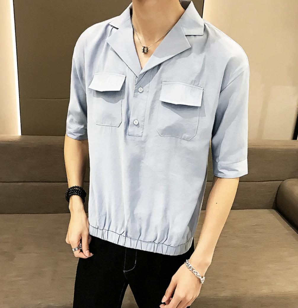 Camisa Manga 3/4  / Camisas Korean Style