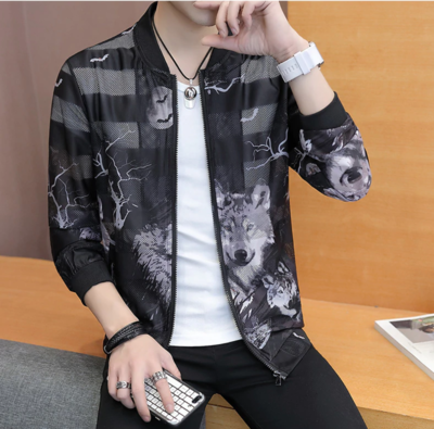 Korean Slim Fit Bomber Jacket / Camisas Korean Style