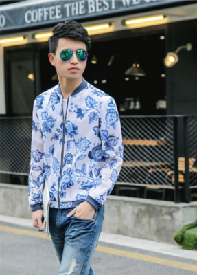 Jacket Men Sunscreen Clothing / Camisas Korean Style