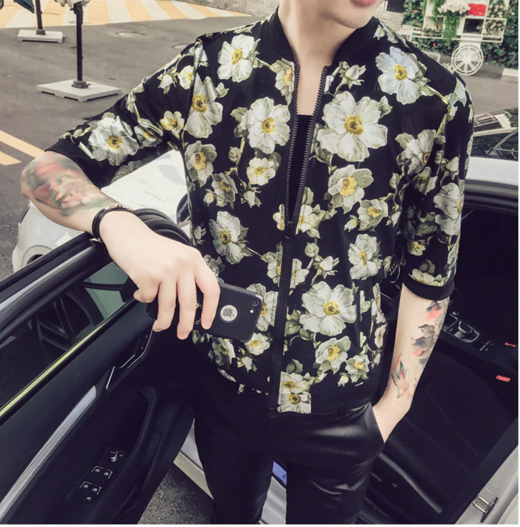 Men Jackets and Coats Summer / Camisas Korean Style