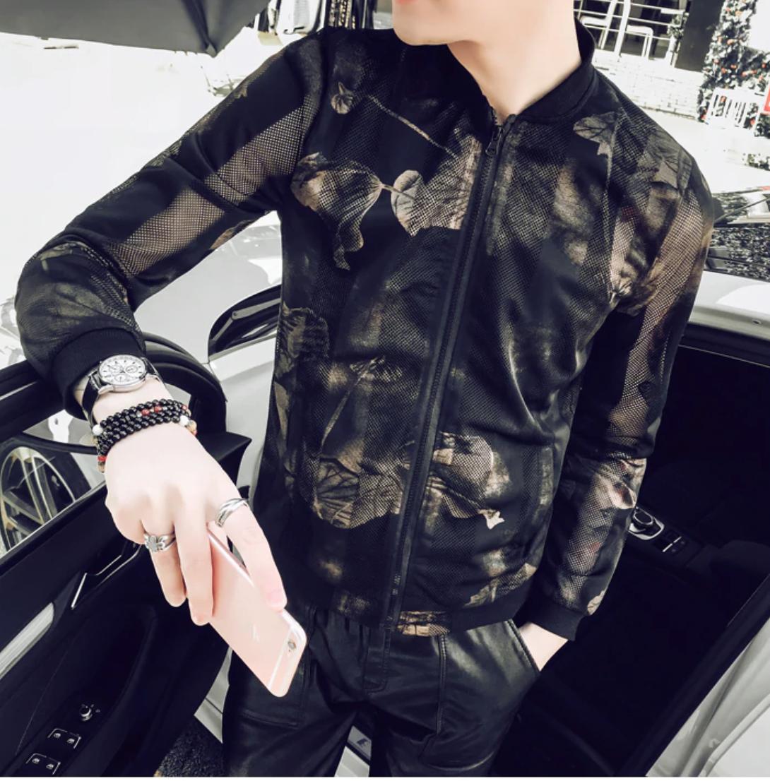 Fashion Summer Thin Jacket / Camisas Korean Style