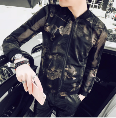 Fashion Summer Thin Jacket / Camisas Korean Style