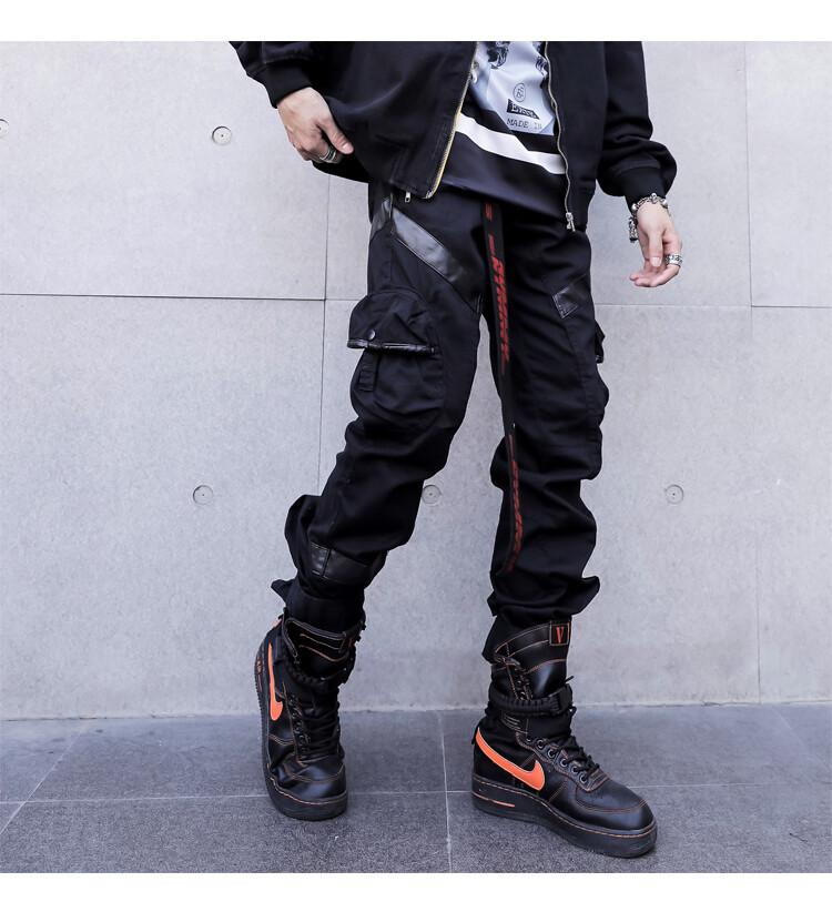 Pantalones largos con bolsillos/Pantalon Korean Style
