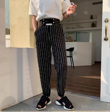 Pantalones Hombre Streetwear/Pantalon Korean Style
