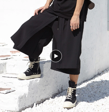 pantalones Harem Hip Hop Punk/Pantalon Korean Style