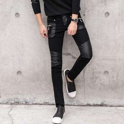 Pantalones ajustados para hombre negro /Pantalon Korean Style