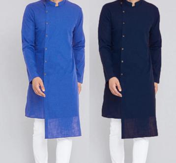 Streetwear Kurta Suits /Camisa Verano  Korean Style
