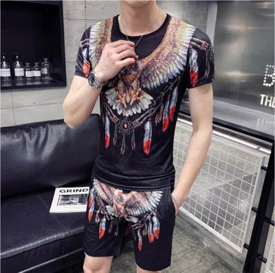 Summer Set Men Short Sleeve Shorts/  Ropa Coreana Hombre