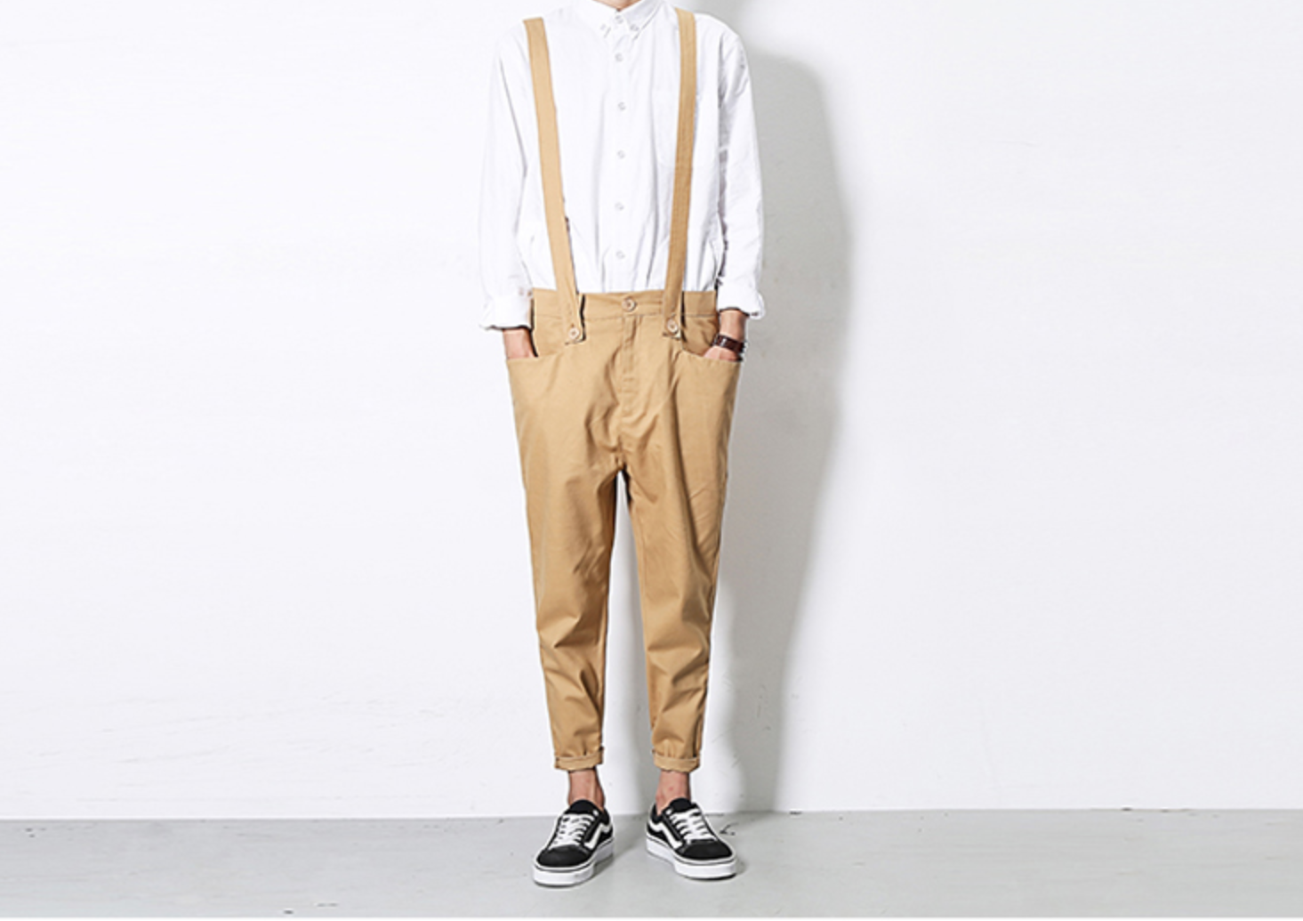 Jumpsuit New Summer Autumn Casual/  Ropa Coreana Hombre