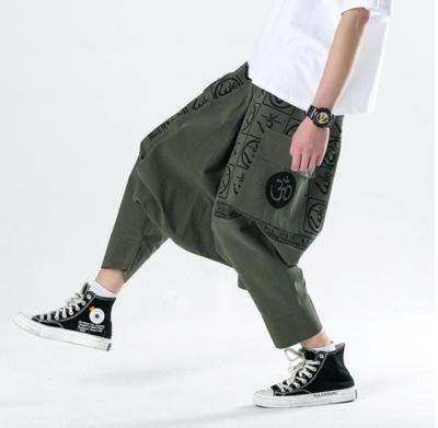 Hip Hop Streetwear Elastic /Pantalon Korean Style