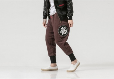 Joggers Pants Male Hiphop /Pantalon Korean Style