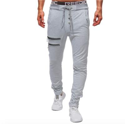 Mens Zipper Pants New Hip Hop Streetwear   /Pantalon Korean Style