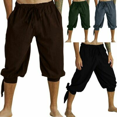 Casual Harem Pants Linen Ropa Coreana Hombre