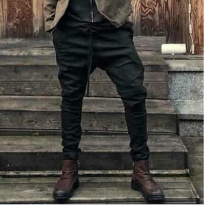 Fashion Pants Hip Hop  Ropa Coreana Hombre