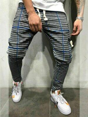 Harem Pants Plaids Hip Hop  Ropa Coreana Hombre