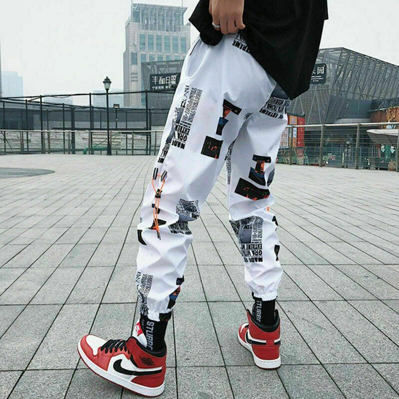 Hip hop Pants Men Loose Joggers   Ropa Coreana Hombre