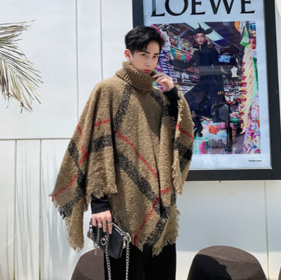 Men Knitted Cardigan Jacket / Cardiga Hombre Korean Style