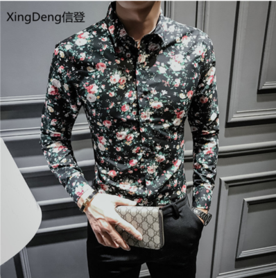 Men Casual Shirt /Camisa Korean Style