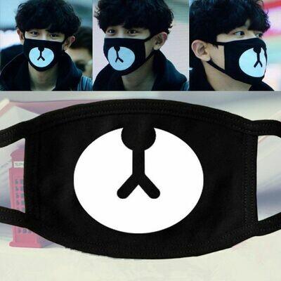 3 PCS Mask face Kpop  /  Accesorios Korean Style